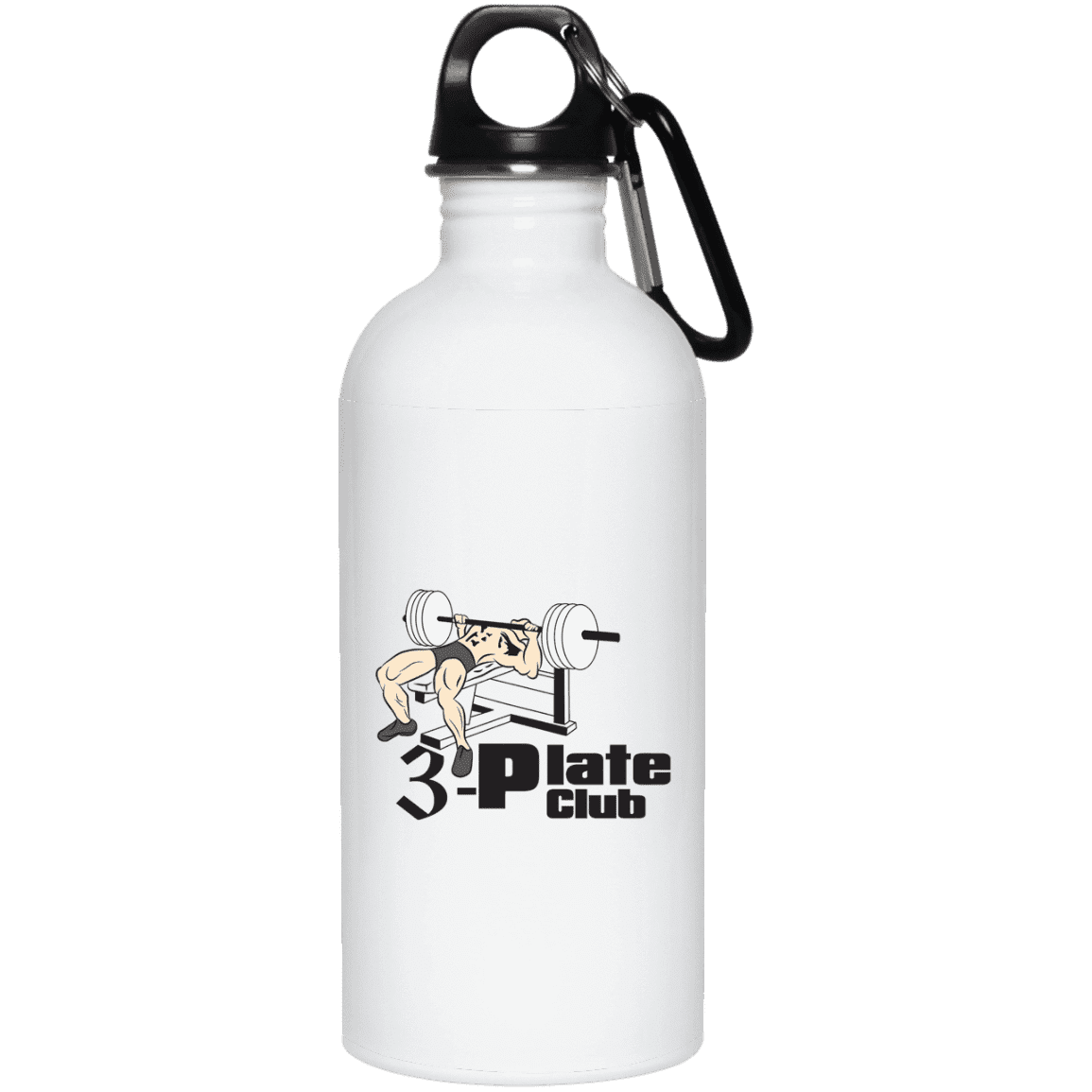 Drinkware 20oz 3-Plate Club Water Bottle