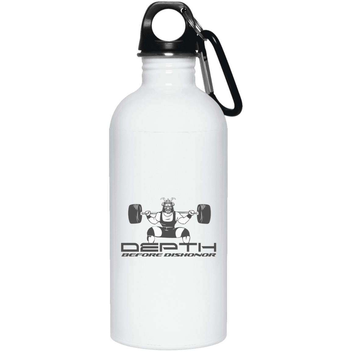 Drinkware 20oz Depth Before Dishonor Water Bottle