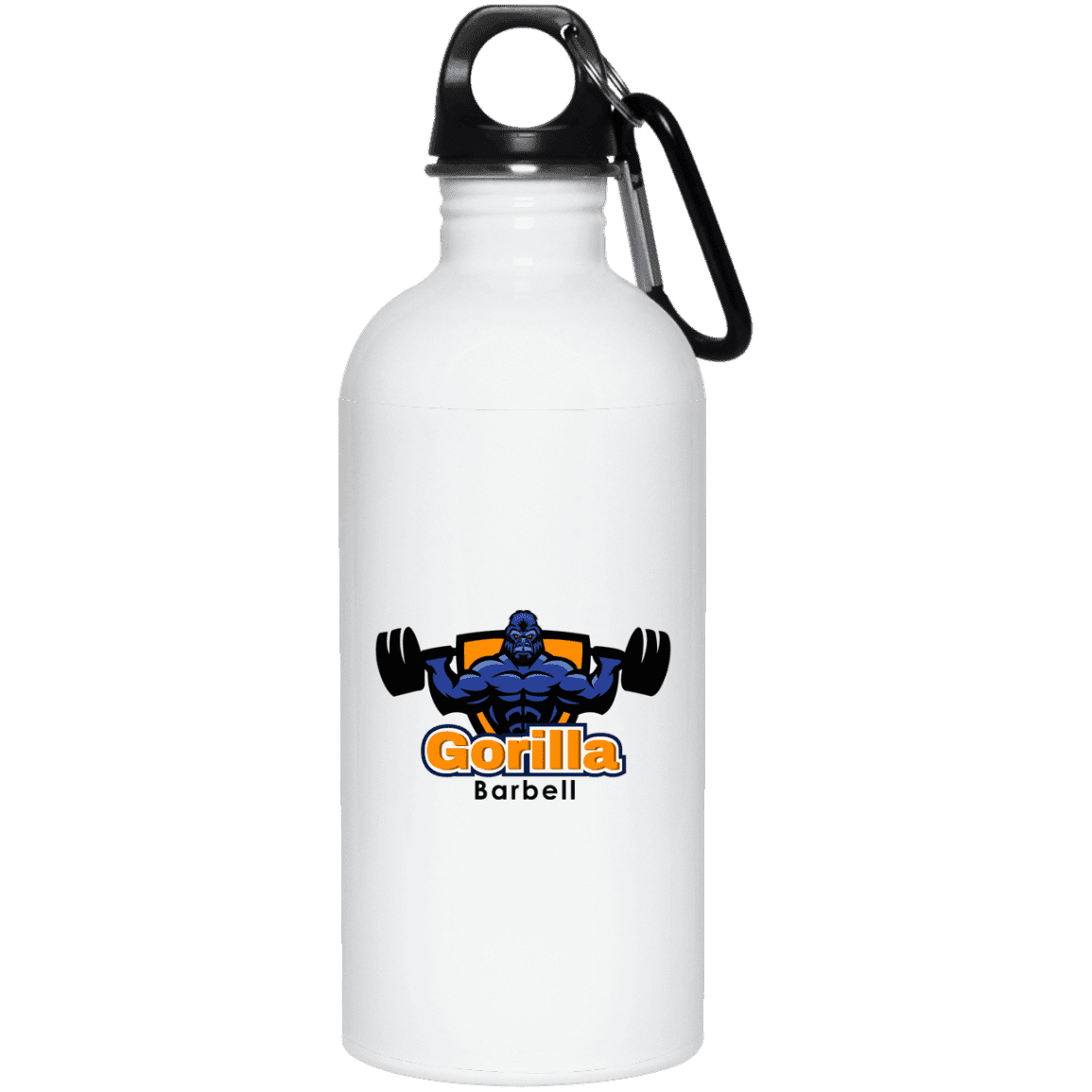 Drinkware 20oz Gorilla Barbell Water Bottle