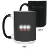 Drinkware Black / One Size White Lights Color Changing Mug