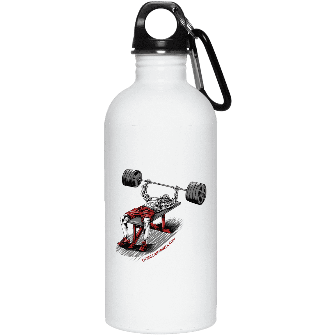 Drinkware White / One Size Dead Man's Bench Water Bottle