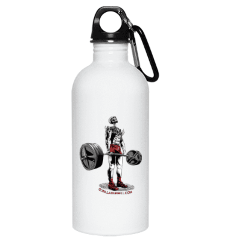 Drinkware White / One Size Dead Man's Lift Water Bottle