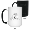 Drinkware White / One Size Gorilla Strength Color Changing Mug