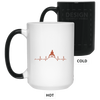 Drinkware White / One Size Heartbeat Color Changing Mug