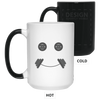 Drinkware White / One Size Iron Smiley Color Changing Mug
