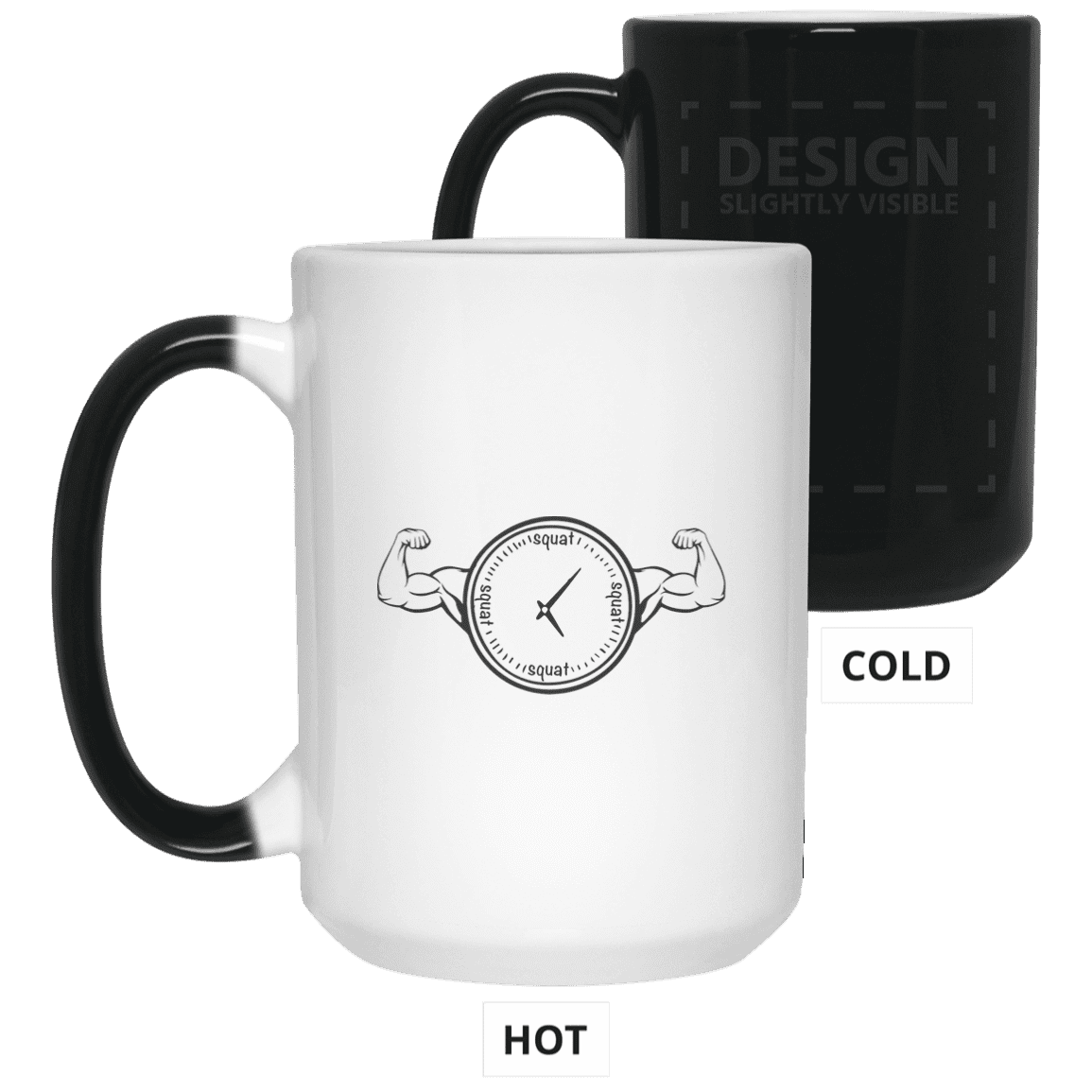 Drinkware White / One Size Squat O'Clock Color Changing Mug