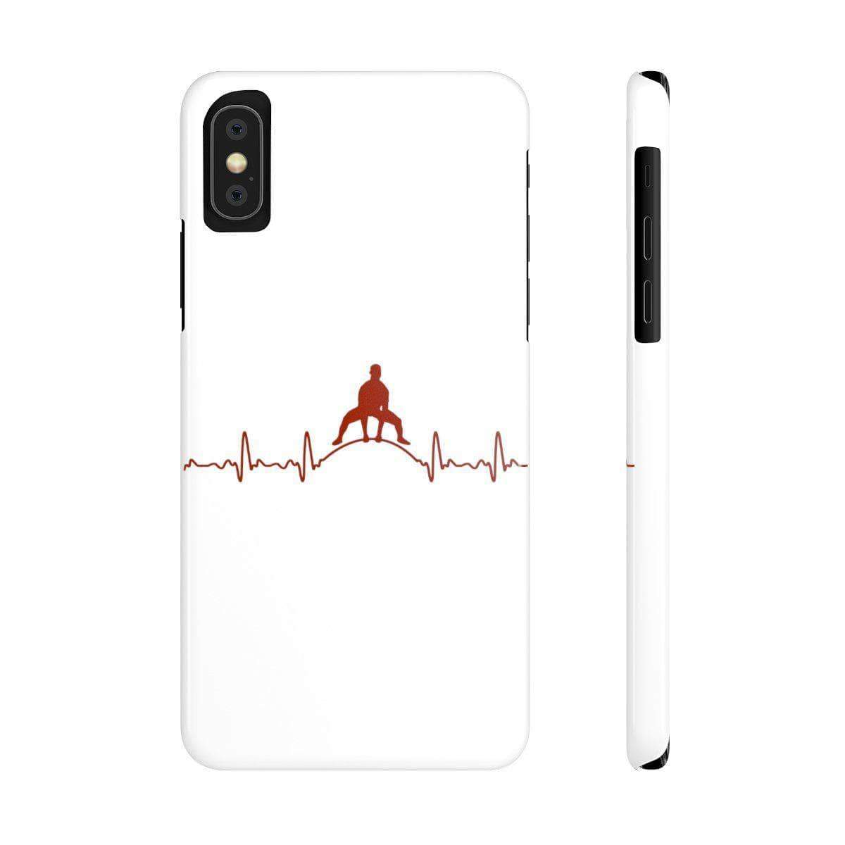 Phone Case iPhone XS Heartbeat Phone Case