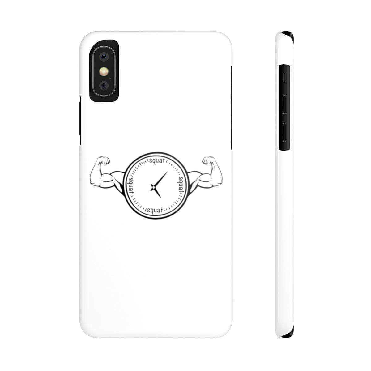 Phone Case iPhone XS Squat O'Clock Phone Case