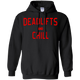 Sweatshirts Black / S Deadlifts And Chill Hoodie