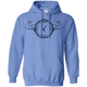 Sweatshirts Carolina Blue / S Squat O'Clock Hoodie