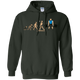 Sweatshirts Forest Green / S Evolution (Color) Hoodie