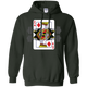 Sweatshirts Forest Green / S King Of Squats Hoodie
