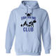 Sweatshirts Light Blue / S 1,000 Pound Club Hoodie