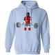 Sweatshirts Light Blue / S Beast Mode Hoodie