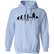 Sweatshirts Light Blue / S Evolution Hoodie