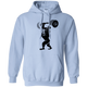 Sweatshirts Light Blue / S Gorilla Press Hoodie