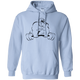 Sweatshirts Light Blue / S Gorilla Strength Hoodie