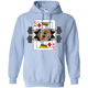 Sweatshirts Light Blue / S King Of Squats Hoodie
