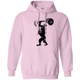 Sweatshirts Light Pink / S Gorilla Press Hoodie