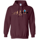 Sweatshirts Maroon / S Evolution (Color) Hoodie