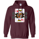 Sweatshirts Maroon / S King Of Squats Hoodie