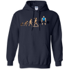 Sweatshirts Navy / S Evolution (Color) Hoodie