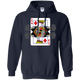 Sweatshirts Navy / S King Of Squats Hoodie
