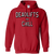 Sweatshirts Red / S Deadlifts And Chill Hoodie