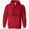 "Sweatshirts Red / S ""I Eat And I Lift Things"" Hoodie"