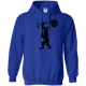 Sweatshirts Royal Blue / S Gorilla Press Hoodie