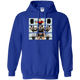 Sweatshirts Royal / S Big Three Hoodie