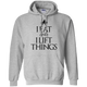 "Sweatshirts Sport Grey / S ""I Eat And I Lift Things"" Hoodie"