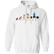Sweatshirts White / S Evolution (Color) Hoodie