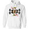 Sweatshirts White / S King Of Squats Hoodie