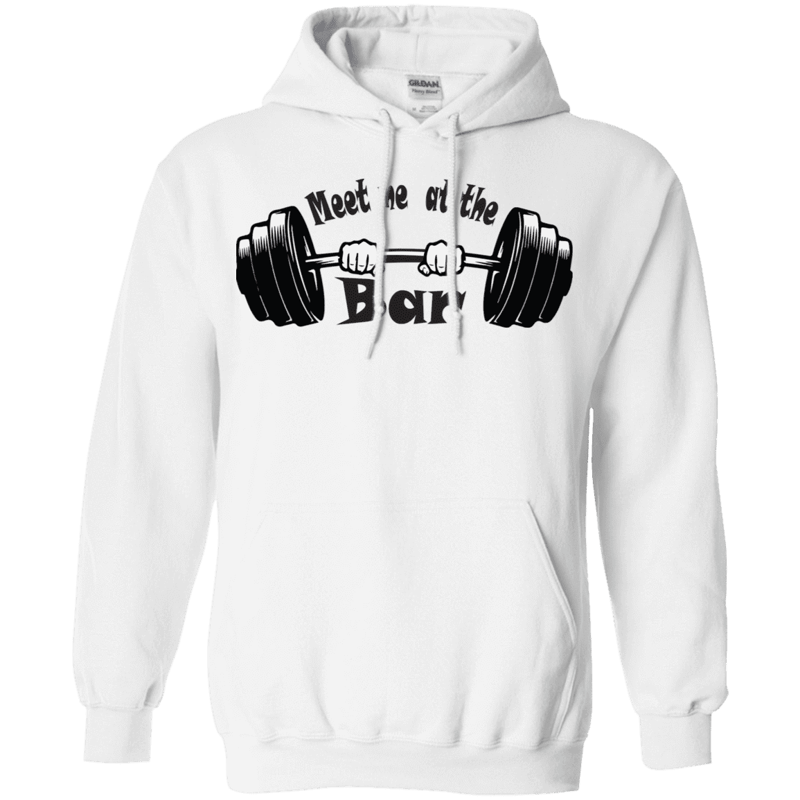 Sweatshirts White / S Meet Me At The Bar Hoodie