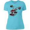 T-Shirts Aqua / X-Small Dead Man's Bench Women's XC Tee