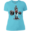 T-Shirts Aqua / X-Small Dead Man's Lift Women's XC Tee