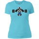 T-Shirts Aqua / X-Small Gorilla Bench Women's XC Tee