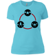 T-Shirts Aqua / X-Small Holy Trinity Women's XC Tee