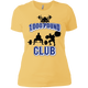 T-Shirts Banana Cream / X-Small 1,000 Pound Club Women's XC Tee