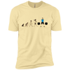 T-Shirts Banana Cream / X-Small Evolution (Color) XC Tee