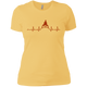 T-Shirts Banana Cream / X-Small Heartbeat Women's XC Tee