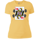 T-Shirts Banana Cream / X-Small Queen Of Squats Women's XC Tee