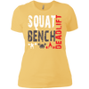 T-Shirts Banana Cream / X-Small Squat Bench Deadlift Women's XC Tee
