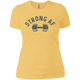 T-Shirts Banana Cream / X-Small Strong AF Women's XC Tee