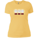 T-Shirts Banana Cream / X-Small White Lights Women's XC Tee