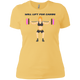 T-Shirts Banana Cream / X-Small Will Lift For Carbs (Donuts) Women's XC Tee