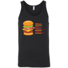 T-Shirts Black / X-Small Anatomy Of A Burger Tank Top