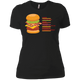 T-Shirts Black / X-Small Anatomy Of A Burger Women's XC Tee