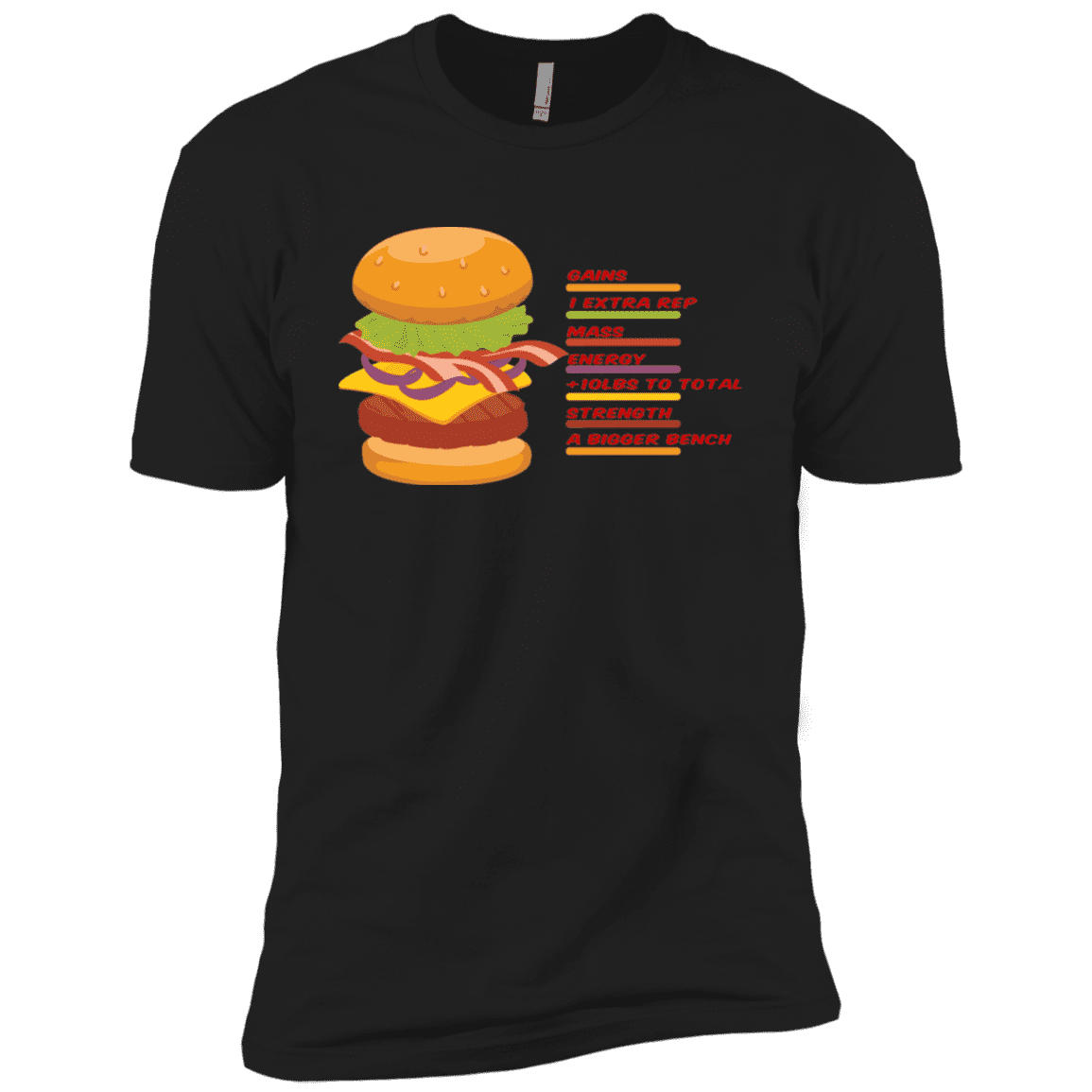 T-Shirts Black / X-Small Anatomy Of A Burger XC Tee